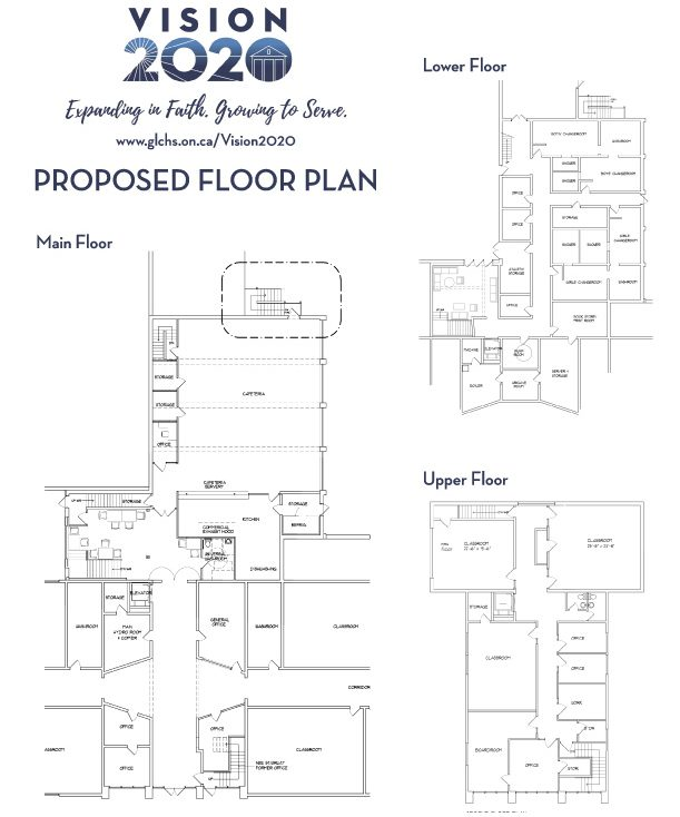 Vision 2020 Proposed Floor Plan